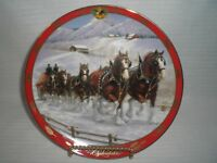 Danbury Mint Budweiser Clydesdales by Susie Morton Collector Plate