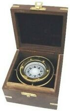 Gimbal Compass IN Decorative Wooden Box