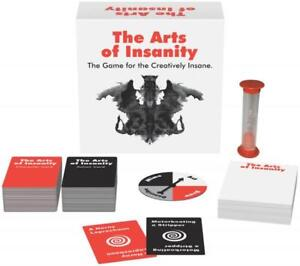 The Arts Of Insanity Card Game Party Birthday Gift Gag Favor Filthy Adult Humor