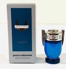 Invictus legend By Paco Rabanne Eau de Parfum  Mini Splash 0.17 oz - New in Box