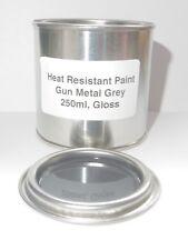 250ml GUN METAL GREY Gloss Heat Resistant Paint, Engine Caliper Free Post
