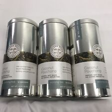 Golden Moon Tea Coconut Pouching Tea Organic Non GMO Loose Leaf (3) X 1.3 oz Tin
