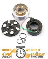 NEW AC COMPRESSOR CLUTCH KIT FOR HONDA CR-V CRV PULLEY+BEARING+COIL+CLUTCH PLATE