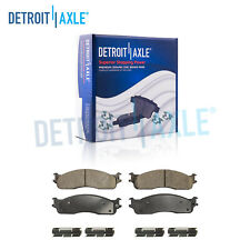 Front Ceramic Brake Pads Hardware for 03 2004 2005 2006 2007 2008 Ram 2500 3500