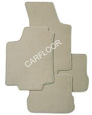 Für Seat Arosa Bj. ab 01.01 Fußmatten Velours  Deluxe hellbeige beige