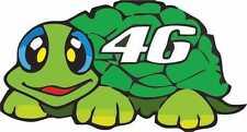 Motorbike Exterior Vinyl Race Number 46 Turtle Decals Motorcycle Motogp Stickers
