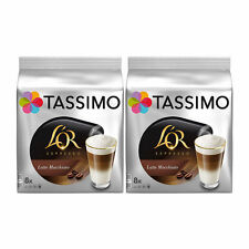 Tassimo L'OR Latte Macchiato Coffee T-discs, 2 Pack, 32 T-Discs/ 16 Drinks