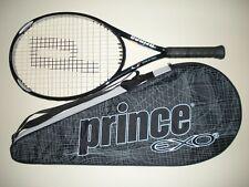"""PRINCE O3 SILVER OS 118 TENNIS RACQUET 4 1/2  27.75"""""""
