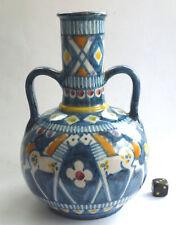 Pinto Vietri vaso ceramica ITALIA MAIOLICA CERAMIC Midcentury
