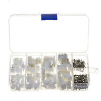 50x JST-XH Kit 2p~5Pin 2.54mm Terminal Housing PCB Header Wire Connectors New