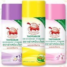 Set Taoyeablok Jt Natural Thai Herbal Powder Alum Antiperspirant Odor Deodorant