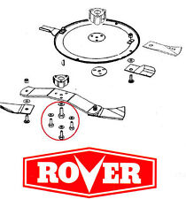 Rover Mower Centre Bolt Kit (Blade)