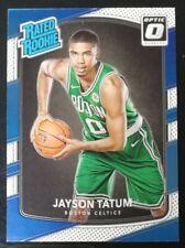 Jayson Tatum Donruss Optic Rated Rookie 2017-18 Boston Celtics R/C