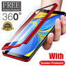 Hybrid 360 Degree Full Cover Phone Shockproof Case For Samsung Galaxy S9 S8 Plus
