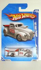 2010 Hot Wheel Hot Rods '40 Ford Pickup - Metallic Silver