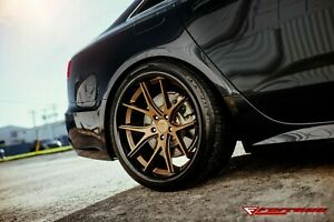 "22""Ferrada FR2 Matte Bronze Concave Wheels for BMW F26 G02 E53 E70 F15 G05 X4 X5"