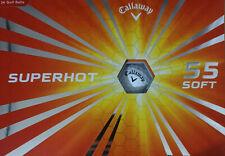New Callaway SuperHot 55✔ 2 Dozen Pack - 24 Golf Balls✔