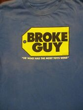 M blue FUNNY BROKE GUY BEST BUY LOGO SATIRE t-shirt by SHIRTS HAPPEN