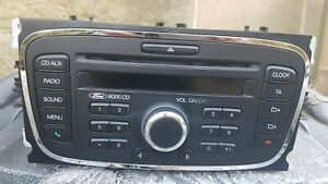 FORD 6000 CD345 PREMIUM MP3 RADIO CD PLAYER MK4 MONDEO C S MAX GALAXY FOCUS