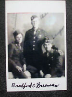 39/45 Photo autographe dédicace original Band of brothers 506th bradford freeman