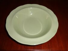 Grindley Dessert Bowl ALMOND PETAL Green