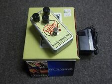 Electro-Harmonix Soul Food Distortion Guitar Effect Pedal w/ Power Supply & Box