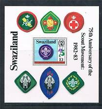 Swaziland 1982 Anniv of Boy scouts MS SG 420 MNH