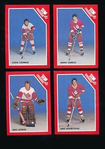 1983 Canadian Nationals Juniors Hockey Set (21/21) Mario Lemieux Steve Yzerman