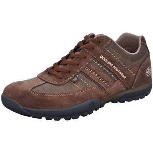 Dockers by Gerli Herren Halbschuhe Sneakers Schuhe Freizeitschuhe Schnürschuhe
