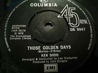 """KEN DODD * JUST OUT OF REACH...... * 7"""" SINGLE EXCELLENT 1972"""