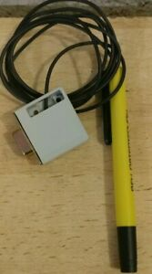 Light-Pen für den Commodore C64 Gelb Rex Datentechnik