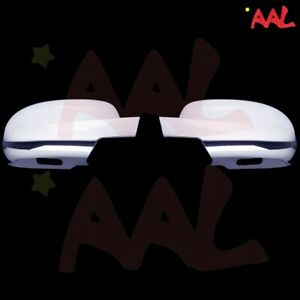 AAL FOR CADILLAC ESCALADE 07-11 12 13 14 CHROME Full MIRROR COVER with Paddle L