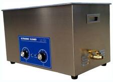 30L Ultrasonic cleaner Timer Heater w/ basket Jewelry Watches Dental Tattoo