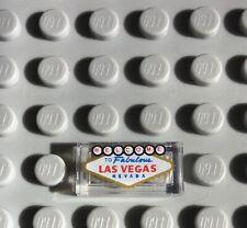 LEGO 1x2 Tile Las Vegas Pattern