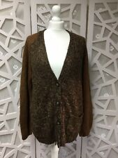 Papaya Cardigan Size 12 Ladies Brown Warm Winter Top