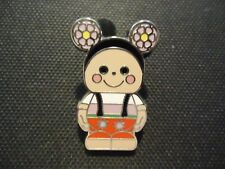 DISNEY VINYLMATION JR #4 SERIES IT'S A SMALL WORLD MEXICAN GIRL MYSTERY PIN