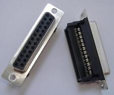 10x D-Sub Buchse 25 polig | A-DFF25LPIII/Z | IDC | 0,98€/STCK | ASSMANN WSW
