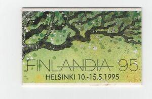 Finland Suomi Finlandia booklet Birds issued 1993