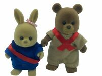 Maple Town Bobby & Patty Scout RARE HTF Calico Critters Sylvanian Families