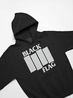 Black Flag logo hoody - Punk Rock Skate Oldschool skate vintage