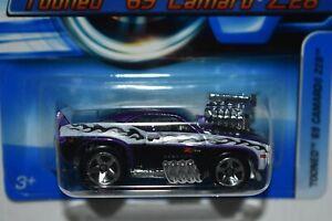 Hot Wheel 1:64 2006 Tooned 1969 CAMARO Z28 Purple