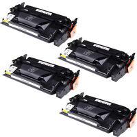 4 Black CF226X 26X High Yield Toner Cartridge fit HP LaserJet Pro M402, MFP M426