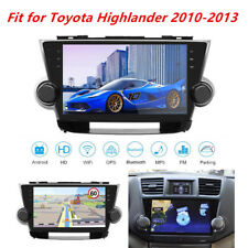 10.2'' HD Android Car Radio Player Kit GPS Navi Fit for Toyota Highlander 10-13