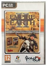 Empire Earth 2 Gold Edition Pc Factory Sealed Free US Ship Win7 Vista XP Nice