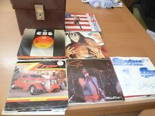 75 ROCK SINGLES + CASE - ALL LISTED + GRADED