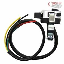 3 Postition indicator switch with Horn/ Engine kill etc,  Classic Bike