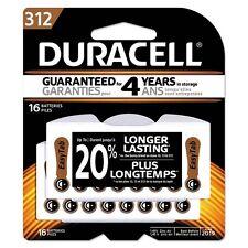 Duracell Button Cell Hearing Aid Battery #312 - Da312B16Zm09