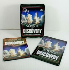 NASA Voyage of Discovery 3 DVD Set Complete story of STS-114 Tin Box Collectible