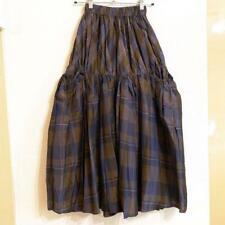 Yohji Yamamoto variant linen silk long skirt ladies size 4 m3138