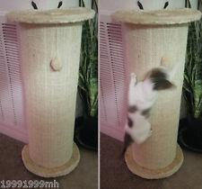 "PawHut 30""H Wall Table Cornor Cat Scratching Post Climbing Kitten Tree Beige"